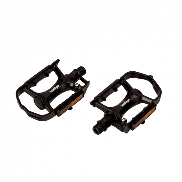 Wellgo MTB Alloy 100 Type 2 Pedals&Accessories Black
