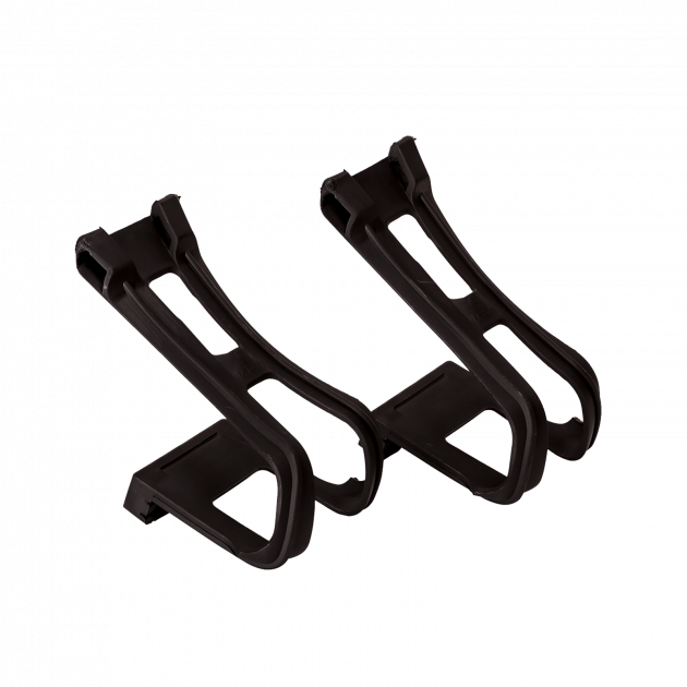 Wellgo Toe Clips Instep Guard Pedals&Accessories Black