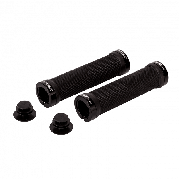 XMR Double Lock-On Grips 100 Grips & Tapes Black