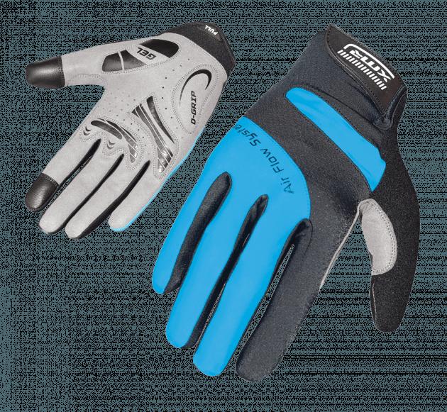 XMR Air Flow Gell Gloves Black/Blue Medium