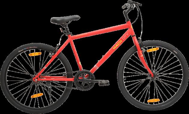 Mach City iBike SS 27.5T Medium Matte Smart Red