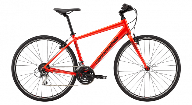 Cannondale Quick 7 (M/17.7) Red (2019)