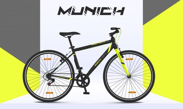 Mach City Munich 21Sp 700c