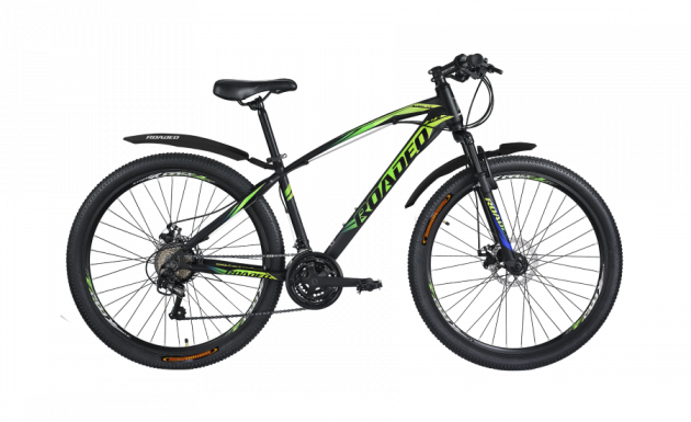 Roadeo Fugitive 27.5T Black with Neon Yellow & Green