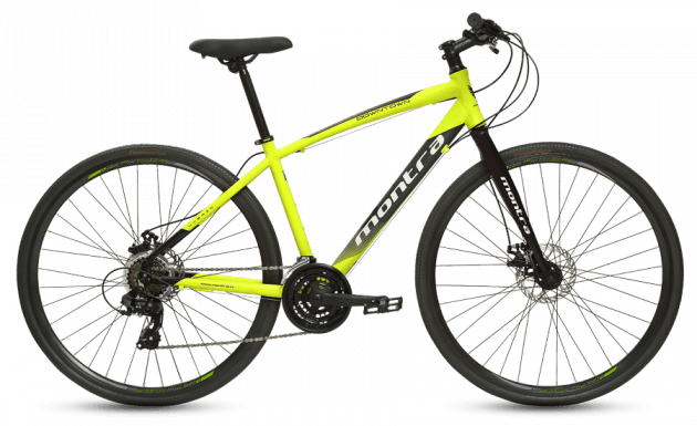 Montra Downtown Medium Neon Yellow with Black