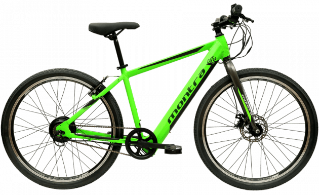 Montra City Unplugged Medium Green