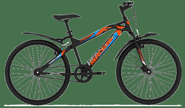 Hercules Top Speed FX100 26T Matt Black With Neon orange