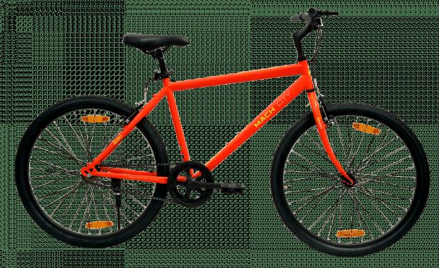 Mach City iBike Single Speed Medium Neon Red