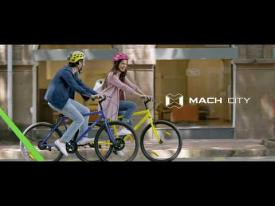 Ride in style with Mach City. #RediscoverCycling